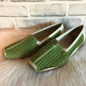 Rieker Antistress Perforated Leather Loafers 39/8